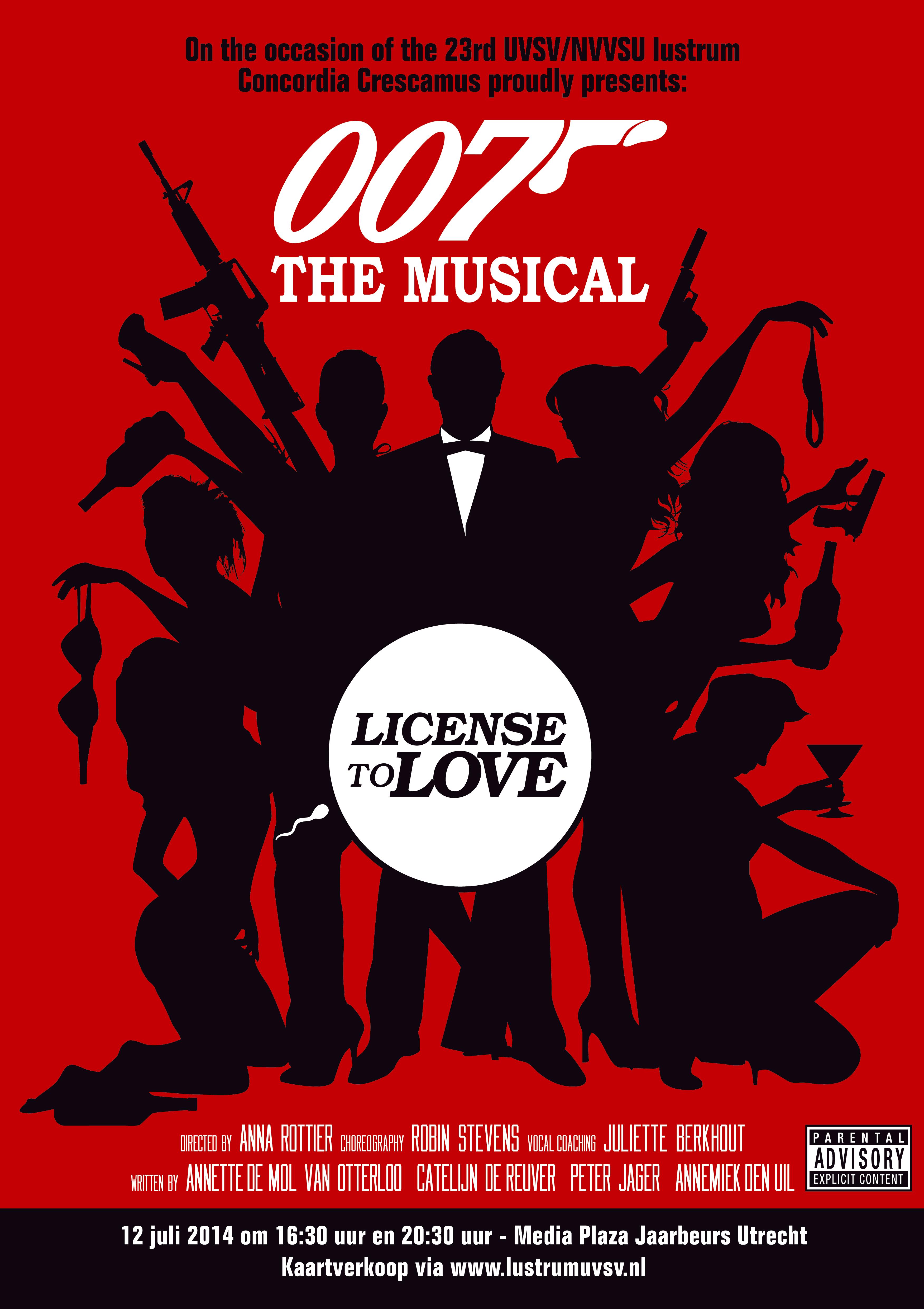 poster 007 woorden